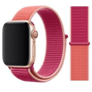 NEW [BAND] Pomegranate Strap Loop For Apple Watch